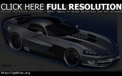 Обои Dodge, Viper, авто, машины, автомобили фото картики заставки