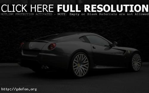 Обои Спортивный серый Ferrari фото картики заставки