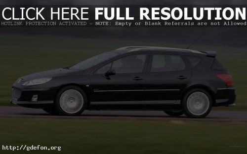Обои Peugeot, 407, авто, машины, автомобили фото картики заставки