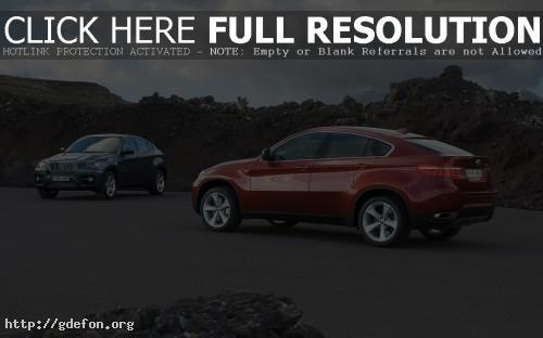 Обои BMW X6 Sports фото картики заставки