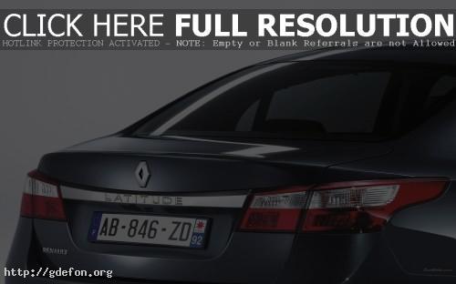 Обои Renault, Latitude, авто, машины, автомобили фото картики заставки