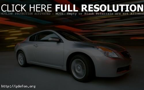 Обои Nissan Altima Coupe фото картики заставки