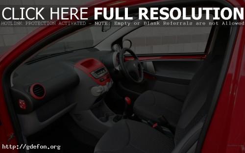 Обои Peugeot, 107, авто, машины, автомобили фото картики заставки