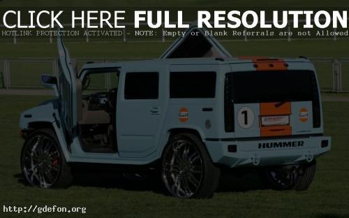 Обои Hummer H2 тюнинг фото картики заставки