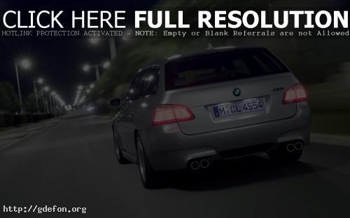 Обои BMW M5-touring фото картики заставки