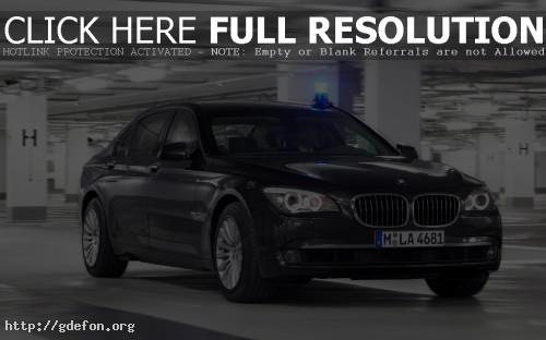 Обои BMW 7-secure фото картики заставки