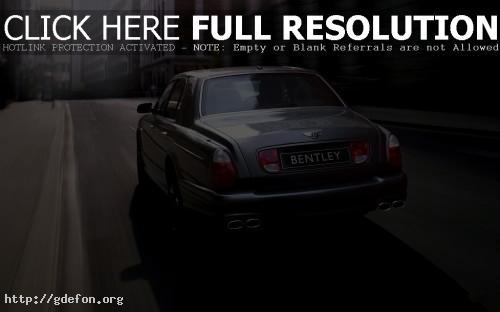 Обои Bentley arnage фото картики заставки