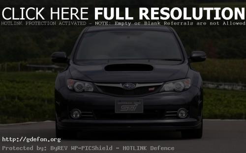 Обои Subaru Impreza WRX STI фото картики заставки