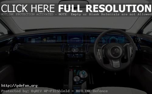 Обои Mitsubishi Concept ZT интерьер фото картики заставки
