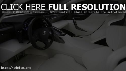 Обои Интерьер Lexus LFA фото картики заставки