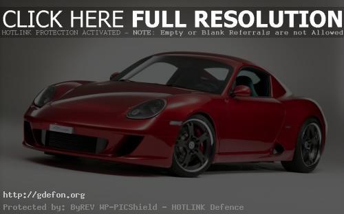 Обои StudioTorino RK Coupe Porsche Cayman фото картики заставки