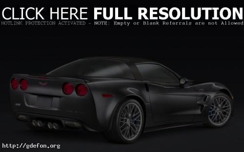 Обои Серебристый Corvette ZR1 фото картики заставки