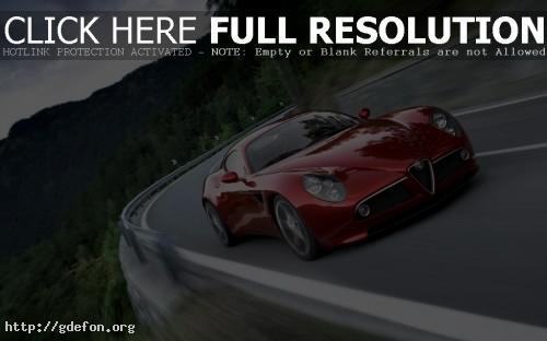 Обои Alfa Romeo Competizione фото картики заставки