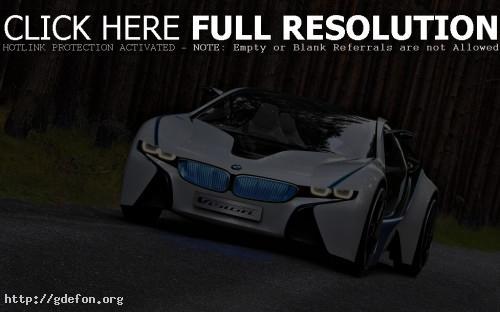 Обои BMW ED vision, вид спереди фото картики заставки