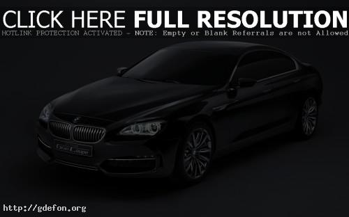 Обои BMW Гран Купе Концепт фото картики заставки