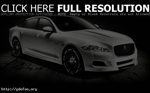 Обои Jaguar XJ75 Platinum Concept фото картики заставки