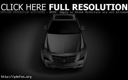 Обои Cadillac CTS Coupe фото картики заставки
