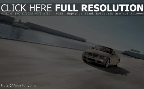 Обои BMW 3 cabrio фото картики заставки