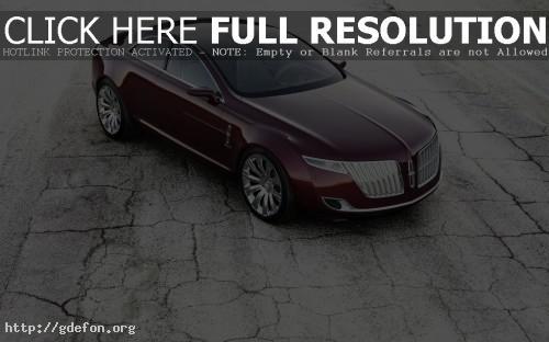 Обои Lincoln Concept фото картики заставки