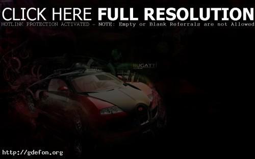 Обои Bugatti veyron фото картики заставки