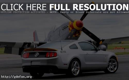 Обои Mustang фото картики заставки