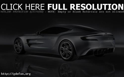 Обои Aston Martin One 77 фото картики заставки