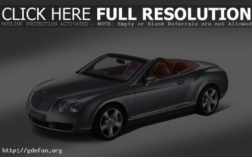 Обои Bentley Continental GTC фото картики заставки