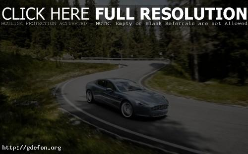 Обои Aston martin Rapide фото картики заставки