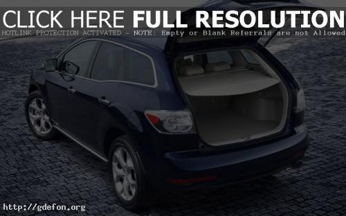 Обои Багажник Mazda CX 7 фото картики заставки