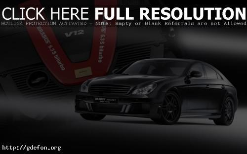 Обои Mercedes Brabus Rocket v12s фото картики заставки