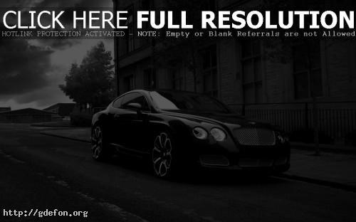 Обои Bentley Kahn GTS фото картики заставки