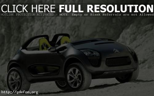 Обои Citroen C Buggy Concept фото картики заставки