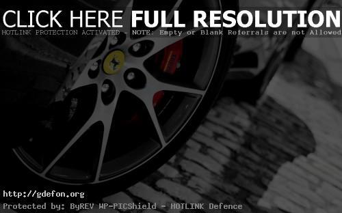 Обои Ferrari колесо фото картики заставки