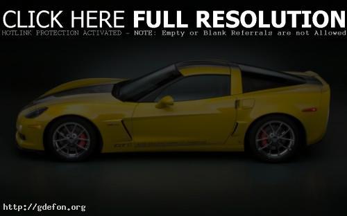 Обои Chevrolet Corvette GT1 фото картики заставки