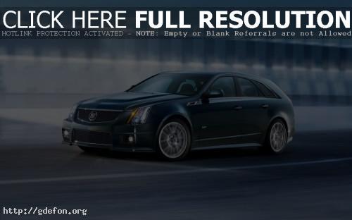 Обои Cadillac CTS-V SportWagon фото картики заставки