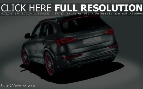 Обои Audi Q5, вид сзади фото картики заставки