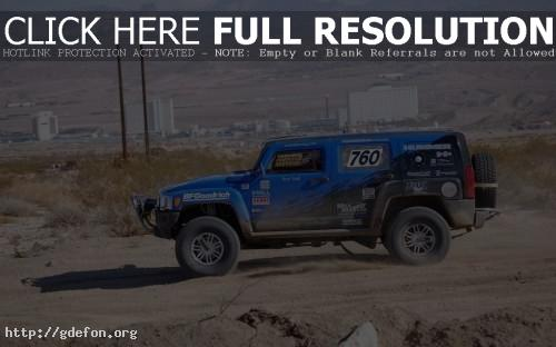 Обои Hummer H3, гонки фото картики заставки