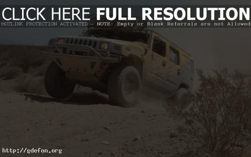 Обои Hummer H2, гонки фото картики заставки