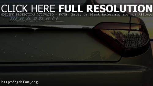 Обои Maserati надпись фото картики заставки