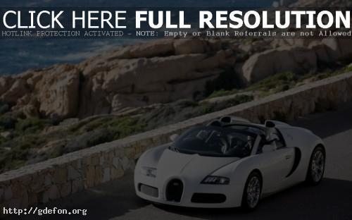 Обои Bugatti Veyron Cabrio фото картики заставки