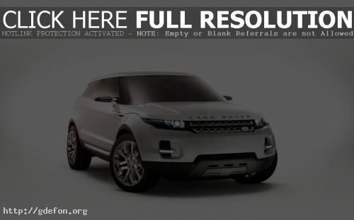 Обои Land Rover LRX фото картики заставки