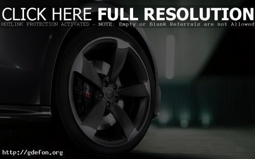 Обои Audi RS5 колесо фото картики заставки