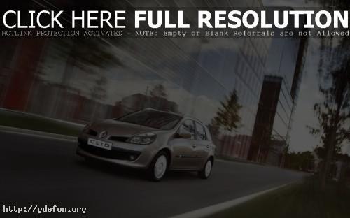 Обои Renault Clio Estate фото картики заставки