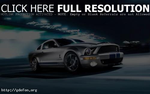 Обои Ford Mustang Shelby GT500 фото картики заставки