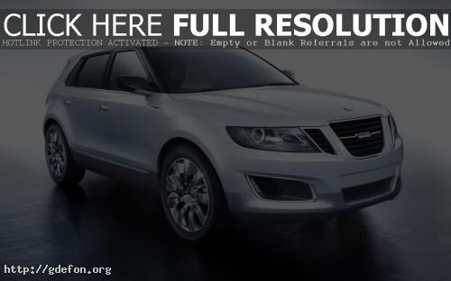 Обои Saab 9 4X BioPower Concept фото картики заставки
