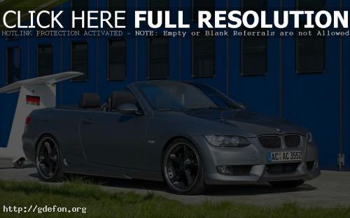 Обои BMW S3 Turbo Cabriolet фото картики заставки