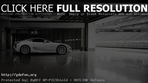 Обои Lexus LFA фото картики заставки