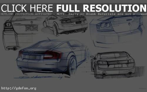 Обои Dodge, Avenger, авто, машины, автомобили фото картики заставки