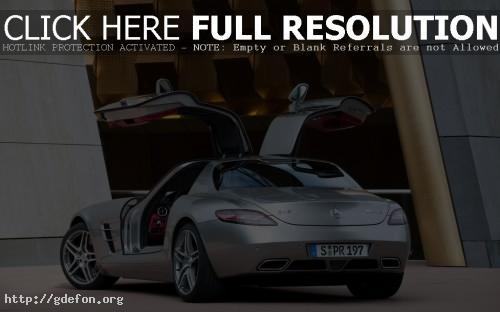 Обои Mercedes Re-Creates Gullwing фото картики заставки