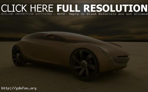 Обои Mazda Nagare Concept фото картики заставки